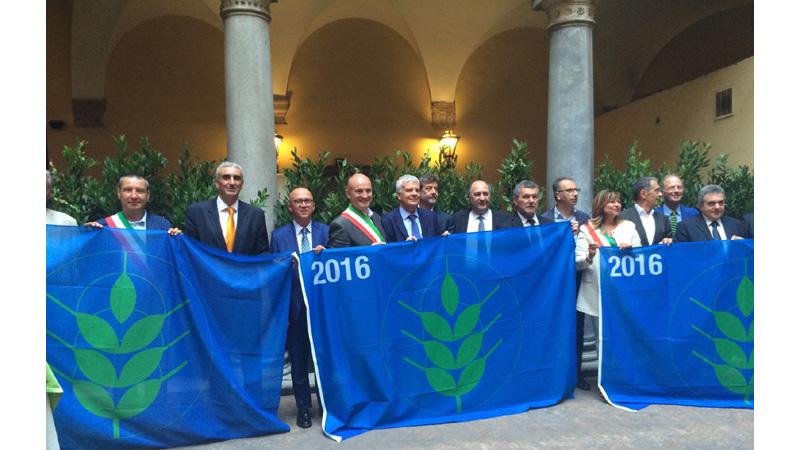Assegnate le 'Spighe Verdi' 2016. 13 le località premiate