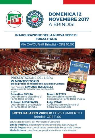 Politica domenica 12 novembre for Deputati di forza italia