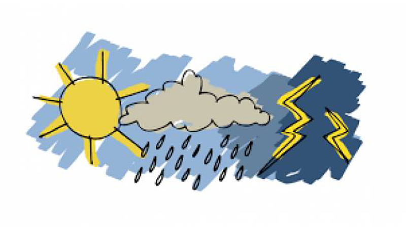 Maltempo, pioggia e vento con rischio mareggiate: ancora un'allerta meteo